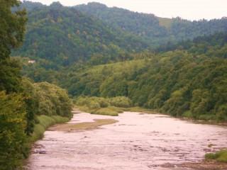 Valley approaching Yubari
