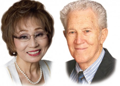PLS founders Ray and Masumi Ormandy