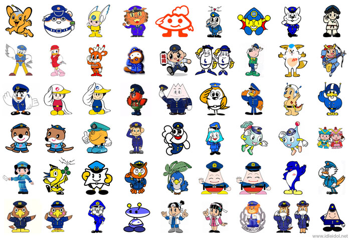 Police characters