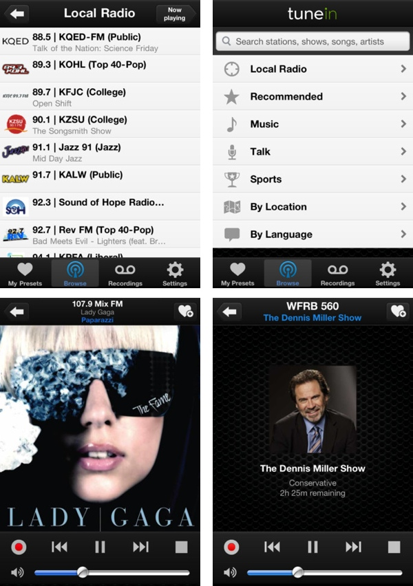 TuneIn Radio brings 50,000 radio stations to your iPod, iPad, iPhone