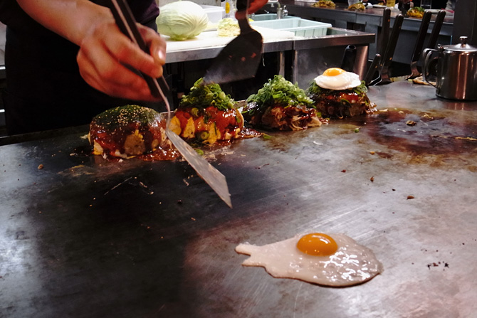 Hiroshima style okonomiyaki - GaijinPot InJapan