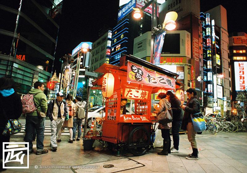 The Takoyaki Guy on Portra 800
