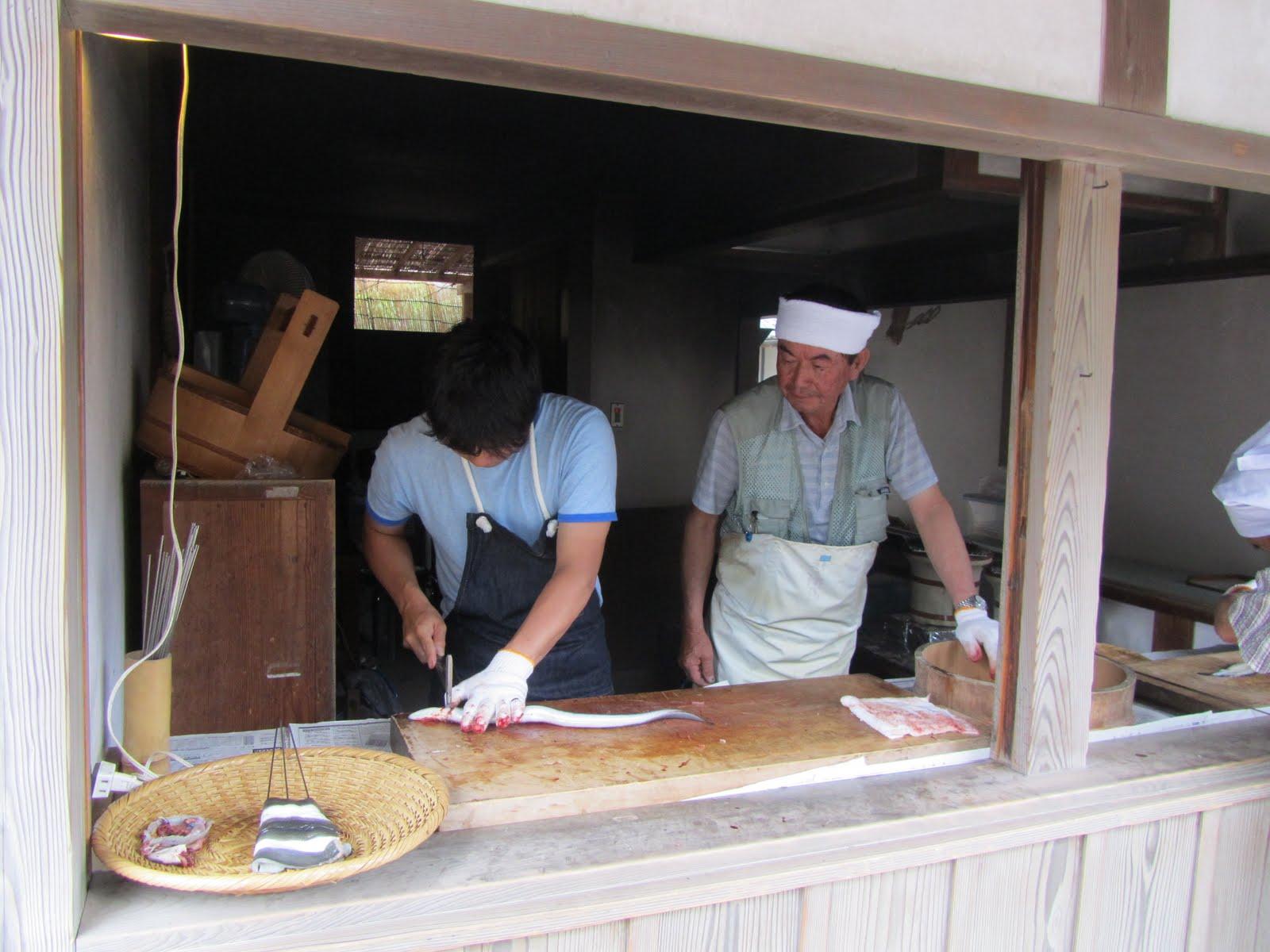unagi chef