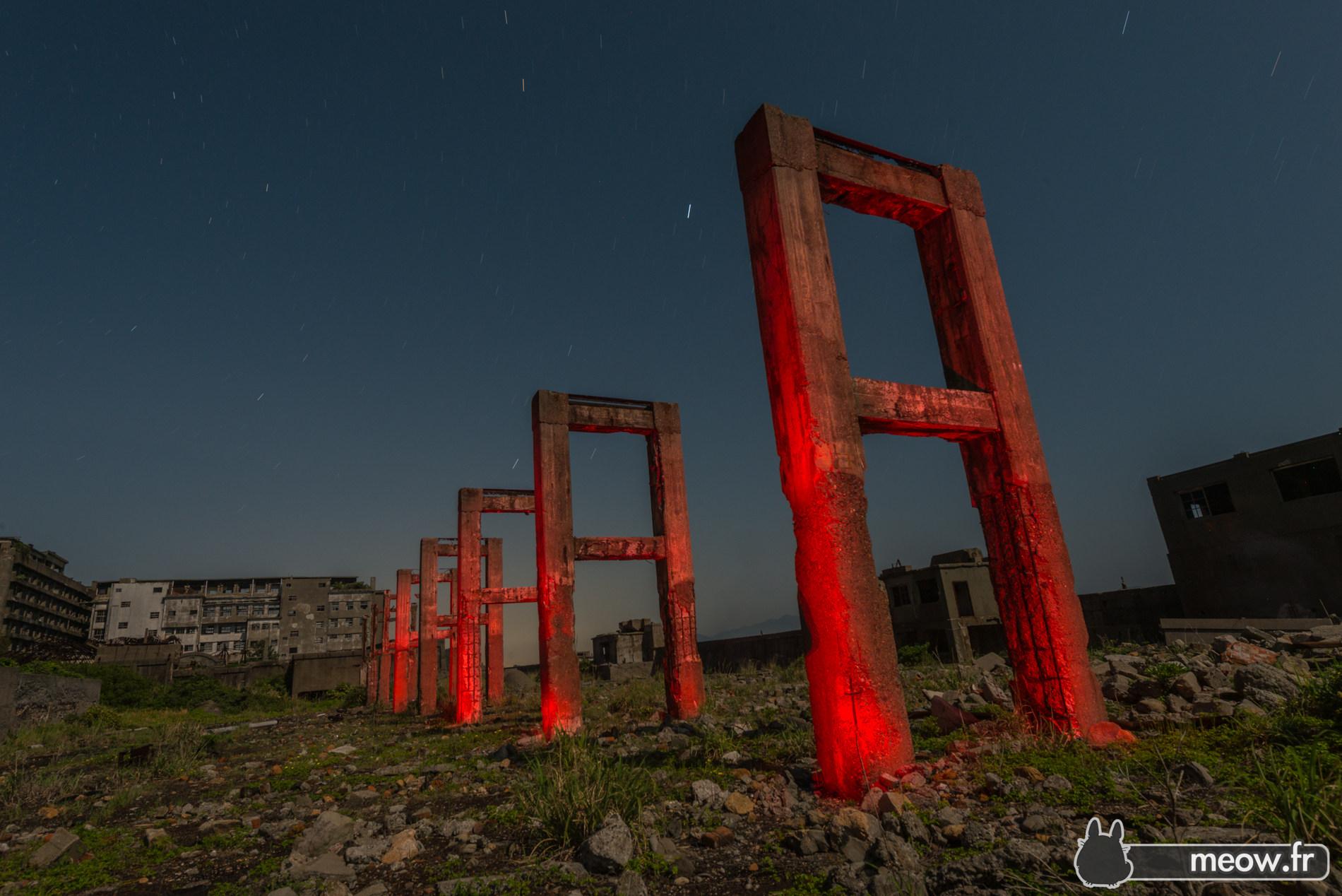 Gunkanjima Mine Red