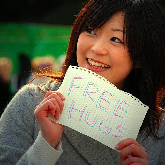 Tokyo Free Hugs