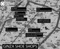 Ginza shoe shops map