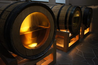 When first put in the barrel, whisky is transparent. Over time, the cask lends its colour to the drink.